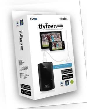 iCube Tivizen iPlug DVB-T Empfänger WIFI für Apple, Android