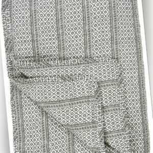 """Laursen - Quilt """"Serafina Schwarz"""" 180x130cm Tagesdecke Decke"""
