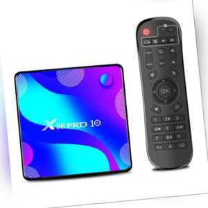 X88 PRO 10 Android 10.0 RK3318 Smart-TV-Box UHD 4K-Media player WIFI BT4.0 H0V5