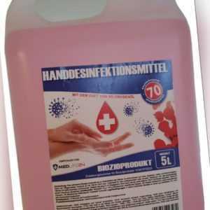 Pfelegendes ✋ ✋ HANDDESINFEKTIONSMITTEL Desinfektion DESINFEKTION 5L 5 Liter