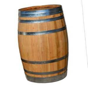 Fass, Holzfaß, Fass, Regentonne, Weinfass, Regenfass Holz, Deko Fass, NEU 100 L