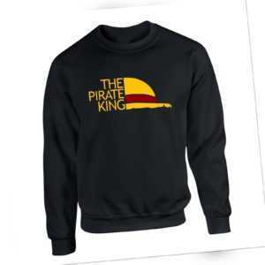 The Pirate King Sweatshirt One Piece Luffy Straw hat Anime Manga Pullover Jumper