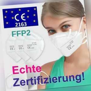 1x Schutzmasken FFP2,  Atemschutzmaske 5-lagig CE 2163 zertifiziert