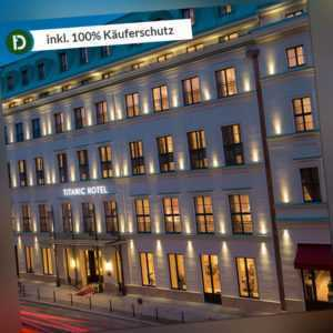 Berlin Städtereise Hotel Gedarmenmarkt Titanic Wellness Gutschein 3ÜN/2P
