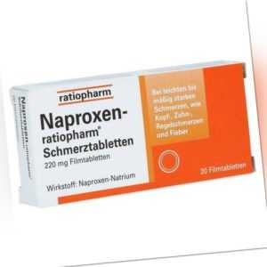 Naproxen-ratiopharm Schmerztabletten 20 St