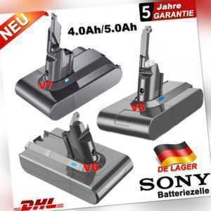 Akku Batterie Für Dyson Animal V6 V7 V8 Ersatz 4000mAh 5000mAh Vakuum Absolute