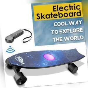 Elektro Skateboard 35 km/h E-board, Elektrisches Longboard mit Funkfernbedienung