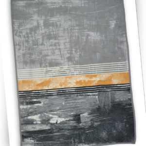 BUGATTI Heimdecke Gemäldestruktur Premiumgewebe ca. 150 x 200 cm