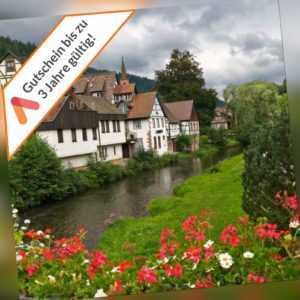 Kurzreise Schwarzwald Oberkirch 4 Tage für 2 Personen Weinprobe Hotelgutschein