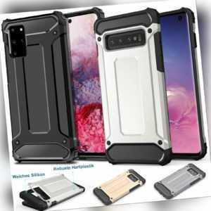 Outdoor Handyhülle für Samsung Galaxy Case Schutz Cover Silikon Robuster Bumper