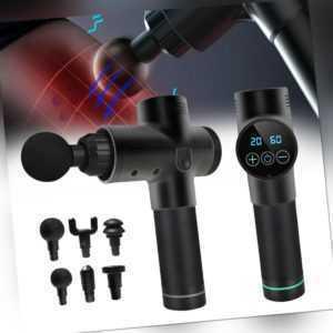 Massagepistole für Nacken Schulter Rücken, Leise Electric Percussion Massage Gun