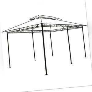 DEUBA® Stahl Gestänge Pavillon TOPAS 4x3m Pavillion Garten Pavilion Zeltgestänge