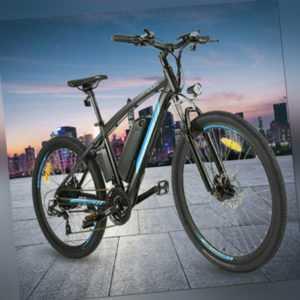 "EBIKE Elektrofahrrad 27,5"" Mountainbike Herren Ebike Shimano Pedelec LI-ION AKKU"
