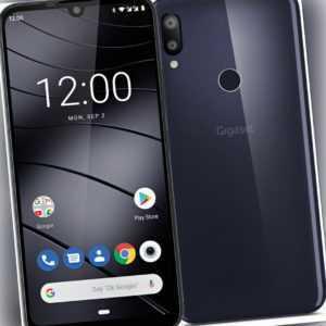 Gigaset GS190 DualSim Night Shade Blue 16GB LTE Android Smartphone...