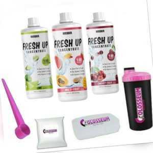 Weider Fresh UP Getränke Liquid Mineral Konzentrat 1 Liter gratis Bonus