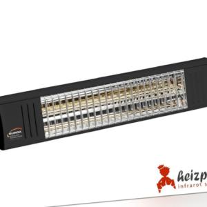 Infrarot Heizstrahler Burda Term2000 IP67 2,0KW schwarz