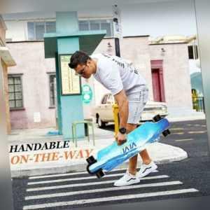 Elektro Skateboard 350W E-Skateboard E-Board 30km/h 8Lagen Ahornholz Doppelmotor