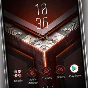 Asus ROG Phone 128GB Dual-SIM Smartphone ohne Vertrag schwarz -...