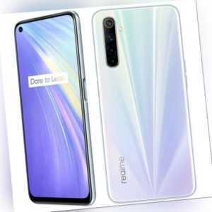 Realme 6 Smartphone 128GB 8GB RAM Comet White 6,5 Zoll Android...