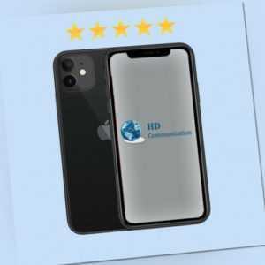 Apple iPhone 11 128GB Schwarz Black Ohne Simlock A2221 MWM02ZD/A...
