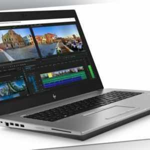 "HP zBook 17 G6 Core i7-9850H 2.6GHz 17.3"" FHD 16GB RAM RTX 4000 1.2TB SSD LTE"