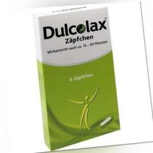 DULCOLAX ZÄPFCHEN 6St 0308169