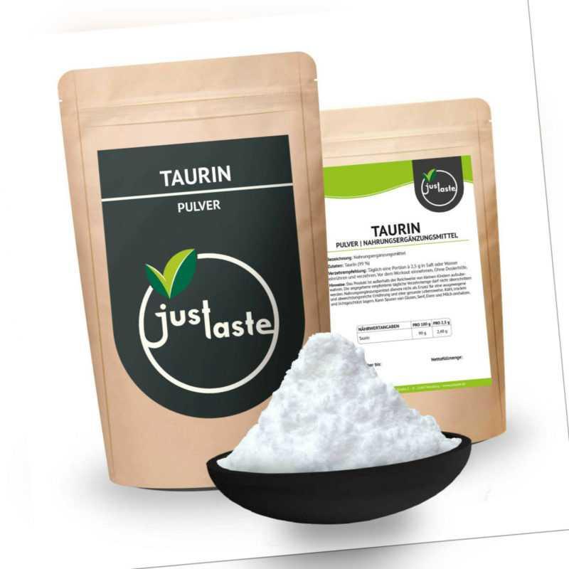 1 kg Taurin Pulver – Ohne Zusatzstoffe – 99% Rein – Aminosäure