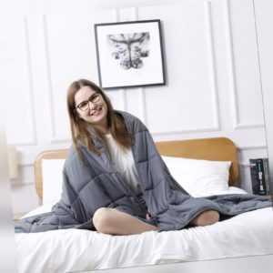 5,5 Kg 9kg Gewichtsdecke Weighted Blanket Therapiedecke Schwere