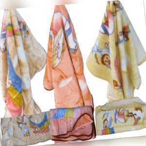 Decke flauschig Tages Wolldecke Kuscheldecke Kinder TV Acrylic