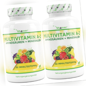 2x A-Z Multivitamin & Mineralien 730 Tabletten (V)  Zink, Selen, Vitamin A B D E