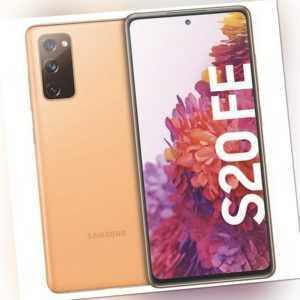 Samsung Galaxy S20 FE 128GB Smartphone cloud orange Triple-Kamera