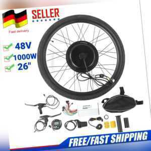 Profi 48V 1000W Vorderrad E-Bike Conversion Kit Umbausatz inkl. Heckmotor HOT