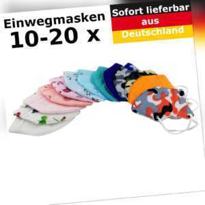 10 - 20 FFP2 Mundschutz Kinder Atemschutzmaske 5 lagig CE1463 zertifiziert Set