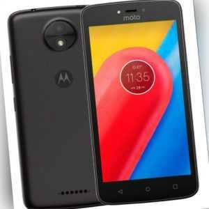 Lenovo Motorola Moto C Plus XT1723 Dual Sim Black Schwarz Android...