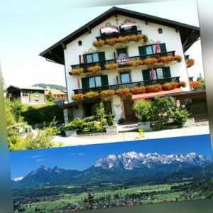 3 Tage für 2 Personen Kurz Urlaub im 3 Sterne Hotel Alpenhof Wallgau Oberbayern