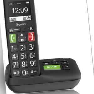 # Gigaset E290 A Anrufbeantworter Großtasten Seniorentelefon analog NEU...