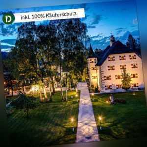 Salzburger Land 5 Tage Zell am See Urlaub Hotel Schloss Prielau Reise-Gutschein