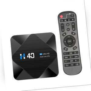 H40 Android 10.0 TV Box H616 Quad-core 2.4G 5G WiFi Media Player 16GB/32GB/64GB