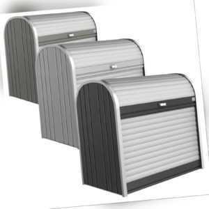 Rolladenbox StoreMax Mülltonnenbox Fahrradbox Geräteschuppen Stauraum