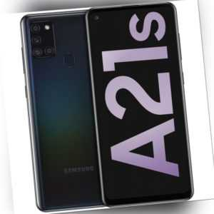 Samsung Galaxy A21S A217 4GB RAM 64GB - Black Android Smartphone 4G/LTE 5000mAh