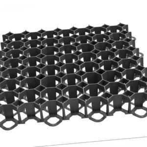 90m² Rasengitter Paddockplatte SCHWARZ Reitplatzmatten Rasenmatten Rasenwaben