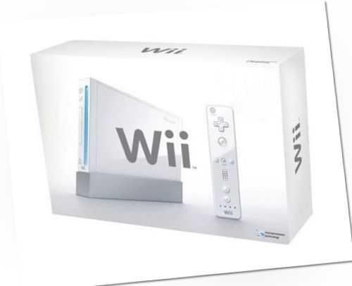 Original Nintendo Wii Weiß Konsole Wii Fit Plus Balance Board 1x Remote Nunchuck