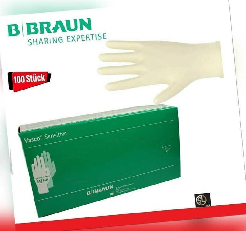 Vasco® medizinische Latex Untersuchungshandschuhe Sensitive Gr.M - EN420 455 374
