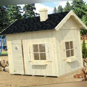 Palmako Kinderspielhaus GRETE 3,7 m2 Kinderhaus 233x175 cm / KURZE LIEFERZEIT