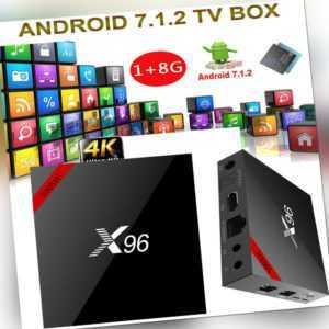 X96 Smart Android 7.1.2 TV Box S905W Quad Core H.265 HDR10 1GB 8GB WiFi W3B1
