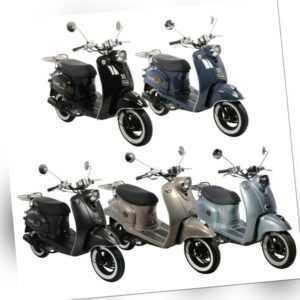 GMX 460 Retro NF Edition 25 km / h Moped-Roller 4-Takt 50ccm ...