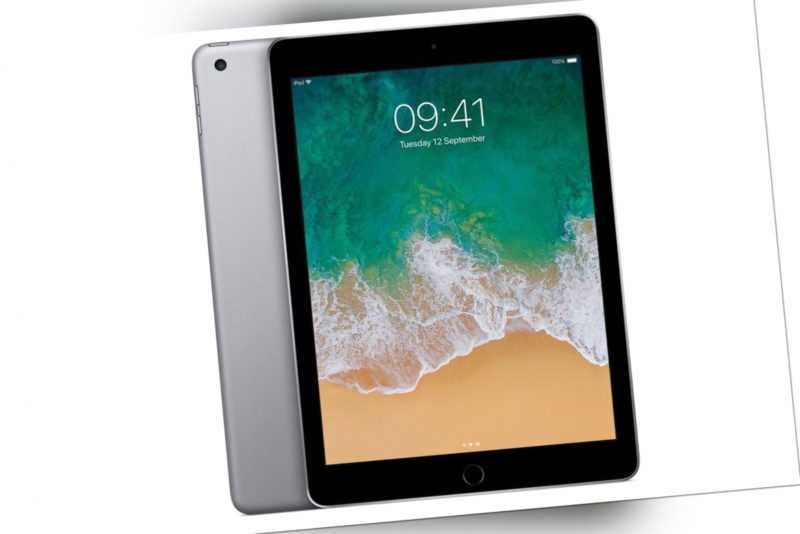 "Apple iPad 5. Generation A1822 Wi-Fi 9.7"" Tablet 32GB Space Grau"