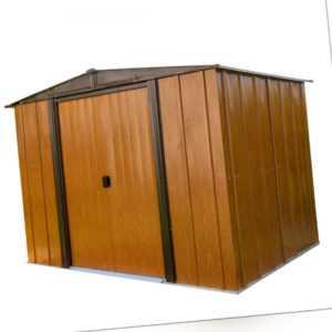 Geräteschuppen Gerätehaus Woodlake 8x6 Metall Spacemaker Schuppen Gartenschuppen