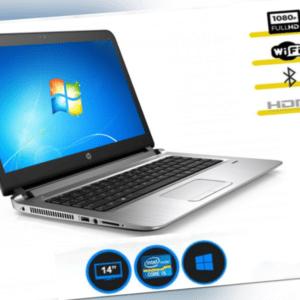 HP ProBook 440 G3 i5-6200U Full HD, 14 zoll, KAM, FPR, WIN 10 PRO