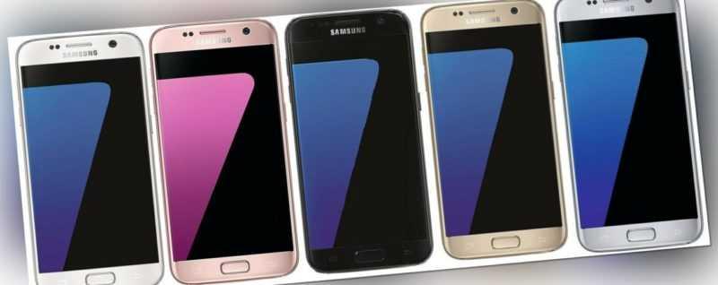 Samsung Galaxy S7 G930F Android Smartphone ohne Simlock 32GB WLAN LTE 5,1 Zoll